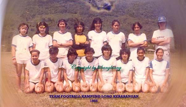 Team Football Long Kerabangan 1985
