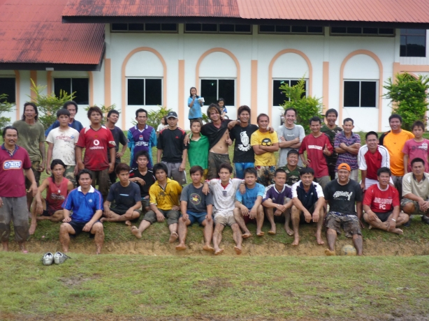 Penduduk Kampung Long Tanid