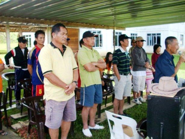 Upacara pembukaan Sukaneka SIB LONG TANID 2010