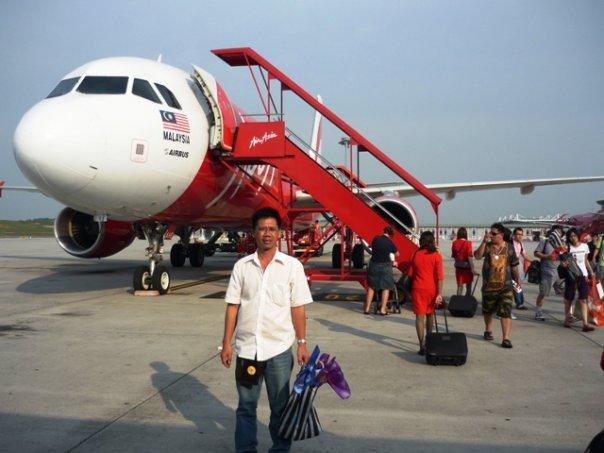 Air Asia... 'Ide pana' miek temulud'