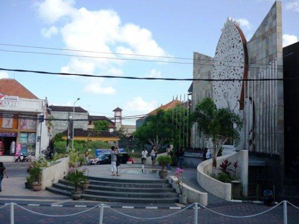 Monument kawasan luk inau ngebom dai Bali