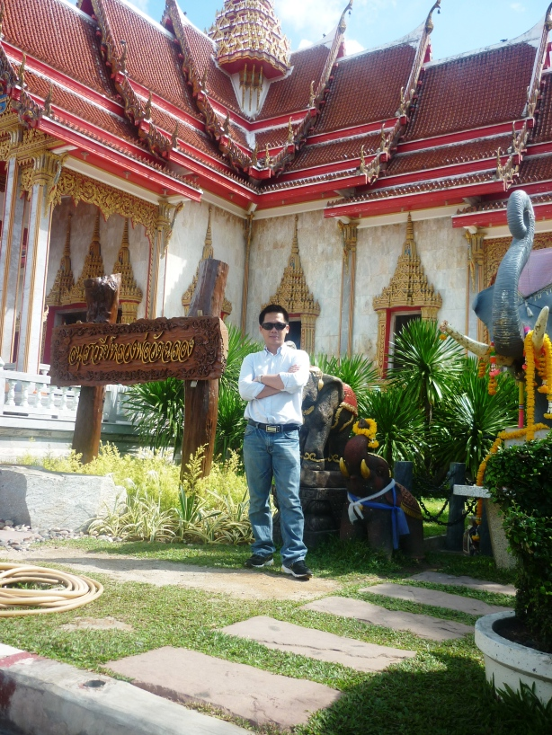 Patun sebuleng tample dai Phuket