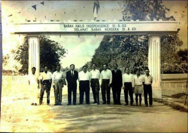 SABAH HAILS INDEPENDENCE ON AUGUST 31, 1963.