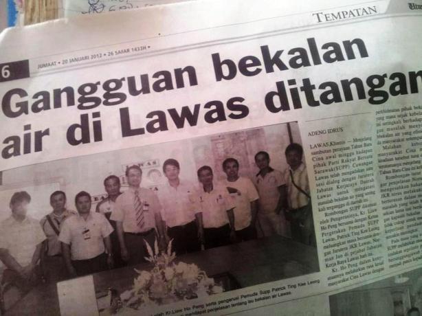 20hb Jan 2012. Utusan Borneo