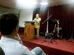 Pastor Edwin Agong mada Ago bang buri Lun Bawang